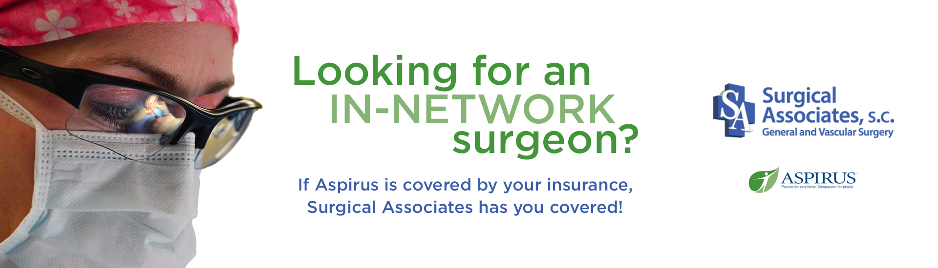 Looking for an IN-Network Surgeon?